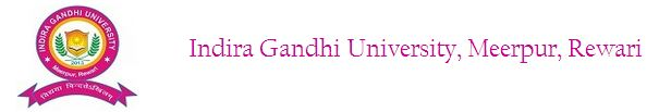 Indira gandhi University, rewari recruitment - Feb 2014